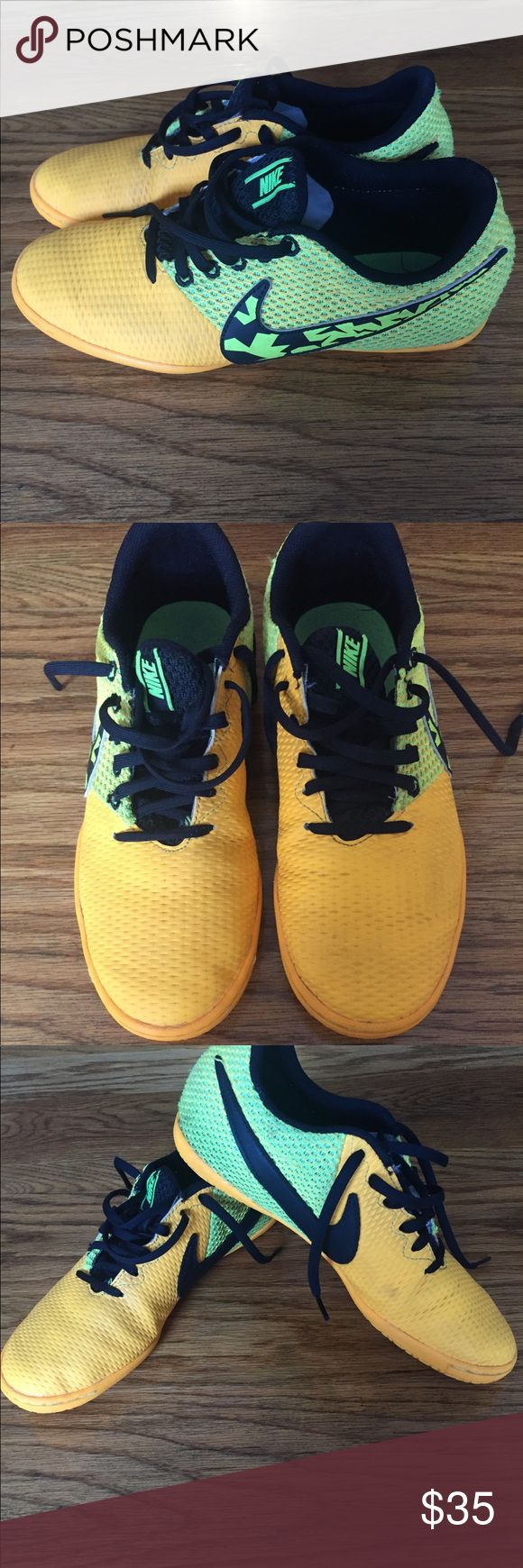Nike Training Shoes Excellent condition, the color is brighter in person.  Unisex Ships fast You won't be disappointed. Nike Shoes Sneakers