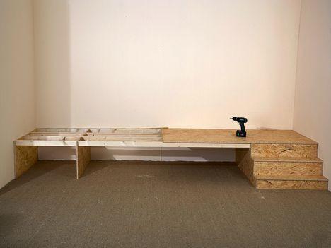 Bett im Podest – Kleine Räume nutzen | selbermach…