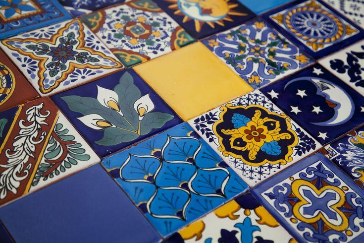 Meksykańskie oryginalne płytki wytwarzane metodą Talavera. Szeroki wachlarz wzorów i kolorów. Szybka dostawa na terenie całej Polski i Europy. #mexican #talavera #tiles #azulejos #płytki #meksykańskie
