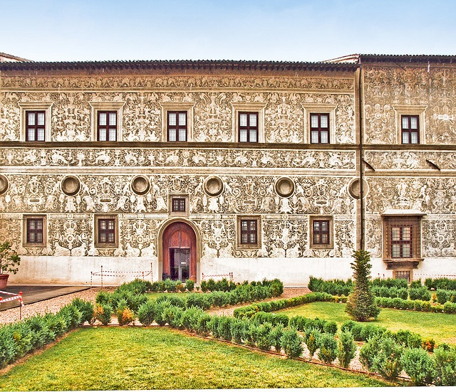 The 16th century Palazzo Vitelli alla Cannoniera in Citta di Castello, Italy by Anguskirk Perugia Umbria