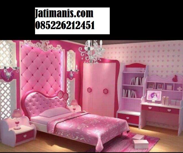 Cat Kamar Pink Kombinasi