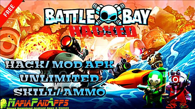 Battle Bay Apk  Mod  Data for Android    Battle Bay Apk  Battle Bay is an Action Games for Android  Download last version of Battle Bay Apk for android from MafiaPaidApps with a direct link  Online  Tested By MafiaPidApps  without adverts & license problem  without Lucky patcher & google play the mod   A real-time multiplayer battle arena in your pocket.  Faceoff against real opponents and own the waves in real-time team battles  its sink or wins.  A real-time multiplayer battle arena in…