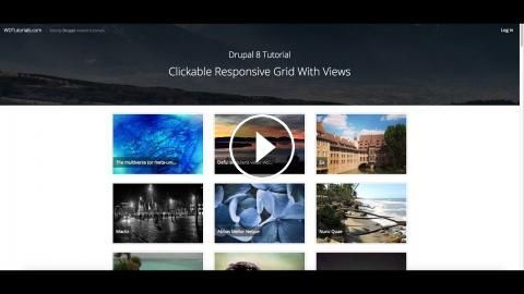 Drupal 8 Tutorial : Clickable Responsive Grid With Views: How to create a responsive, clickable grid with views: MORE DRUPAL TUTORIALS: GOT…