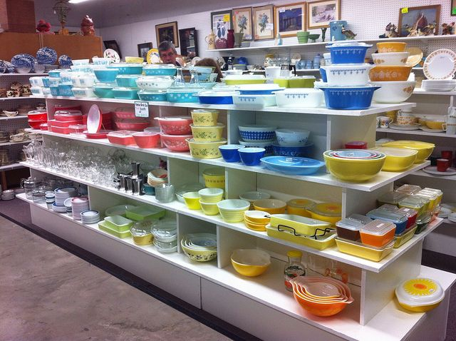 Pyrex Heaven in Adamstown