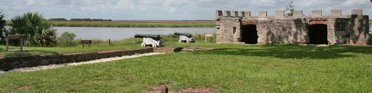The tabby fort and town of Frederica was established in 1736 to protect the Georgia colony from the Spanish. It burned in 1758. It is now a national monument in St. Simons Island, GA. (http://www.nps.gov/fofr/index.htm)