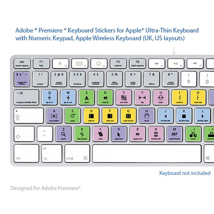Final cut pro x laptop key keyboard shortcuts stickers french labels adobe premiere pro keyboard shortcuts stickers french labels azerty for mac spiritdancerdesigns Choice Image
