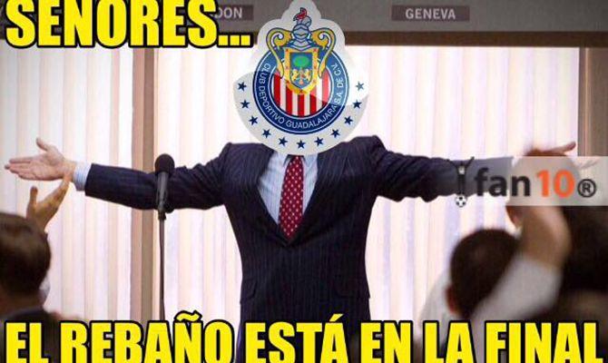 Los memes de Chivas finalista