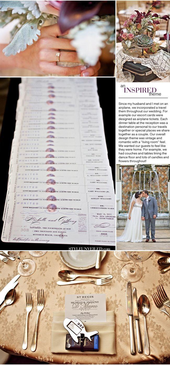 105 best travel theme wedding images on Pinterest   Weddings ...