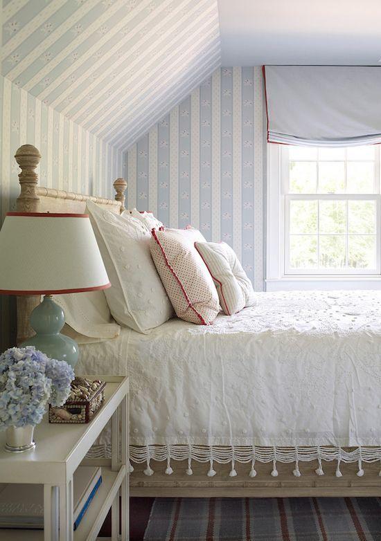 Bedroom Decorating Ideas. Design by Phoebe Howard via Coastal Living