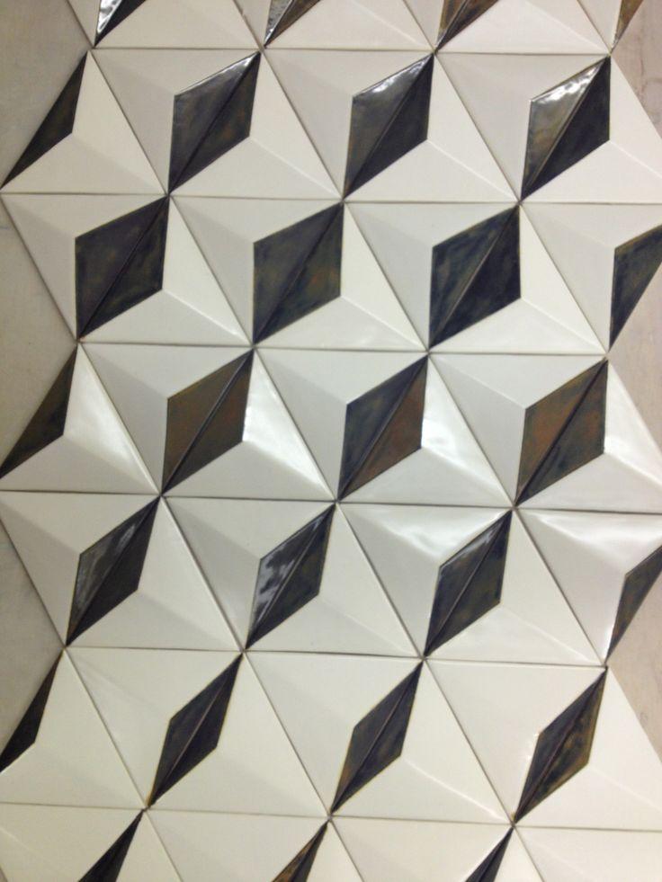 Handmade ceramic elements by Paul Edmunds