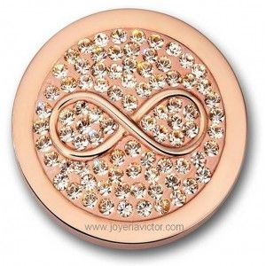 Mi Moneda Infinito Diamond Beautiful gift for the #holidays Available at peoplespottery.com