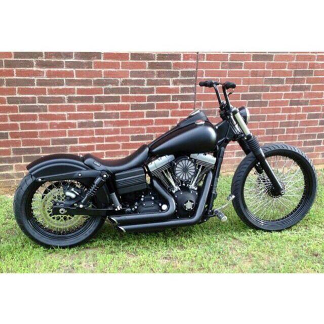 Harley Davidson dyna bobber #harleydavidsondynabobber