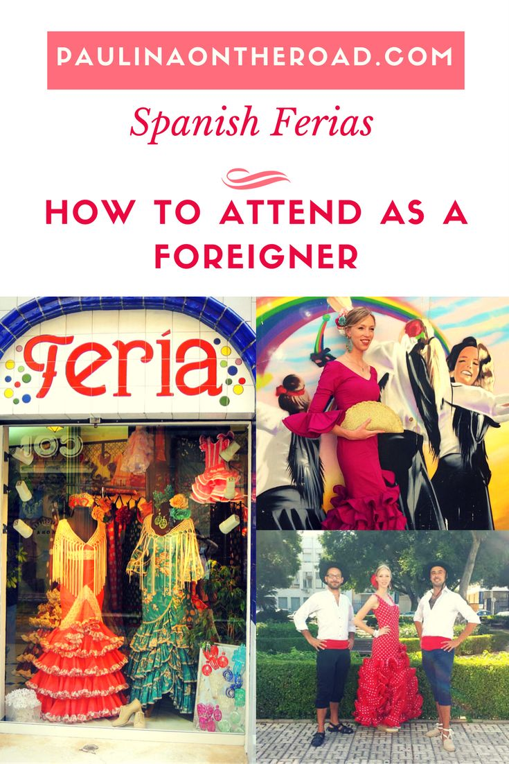 How to assist the most legendary fairs in Spain as a foreigner. Read here all you need to know about THE dress, Flamenco, Sevillanas, Fiesta Calendar and much more. Be ready for the Feria de Abril in Seville or the Feria de Malaga.