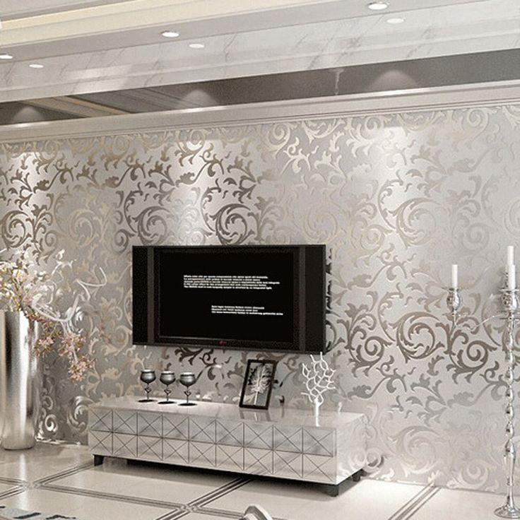 Aliexpress.com : Buy 3d European  living room wallpaper ,bedroom sofa tv backgroumd of wall paper roll,papel de parede listrado from Reliable paper suppliers on Ellen Homedecor  | Alibaba Group