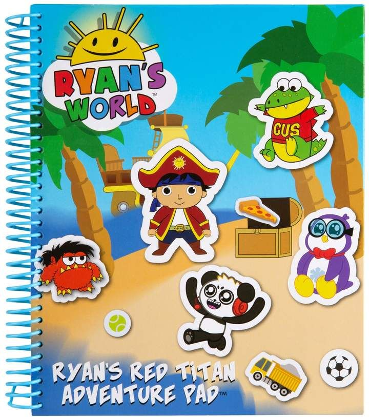 Ryan S World Red Titan Adventure Pad Advent Calendars For Kids Themed Stickers Ryan Toys