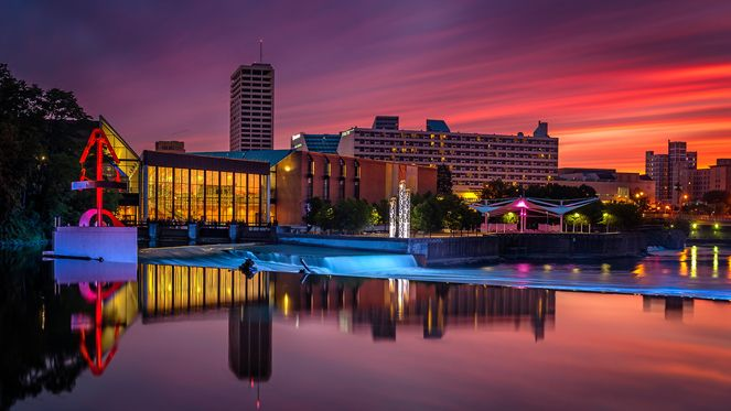 Got only 24 hours to spare when you visit #SouthBend? @TheHudsucker shares some ideas!