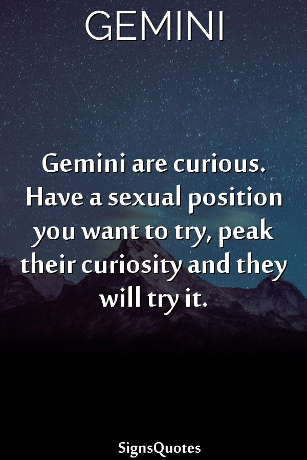 Capicorns and gemini sex astrology