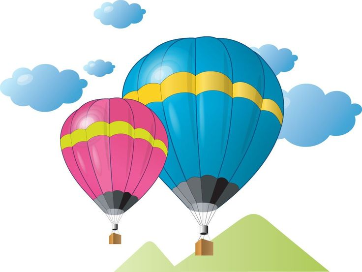 Manned hot balloon