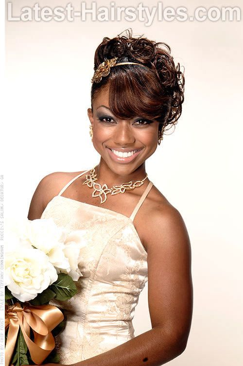 Excellent 1000 Images About African American Wedding Hair On Pinterest Hairstyle Inspiration Daily Dogsangcom