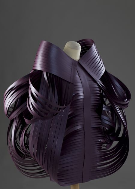 Morana Kranjec sculptural clothes - Image courtesy of Morana Kranjec
