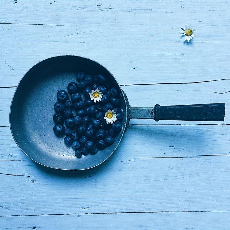 blueberries - photo greenteaforbreakfast.com