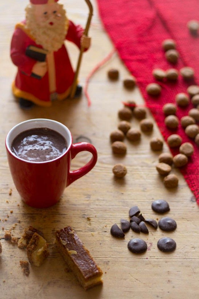 Warme chocolademelk recept. Niet alleen voor Sinterklaas.