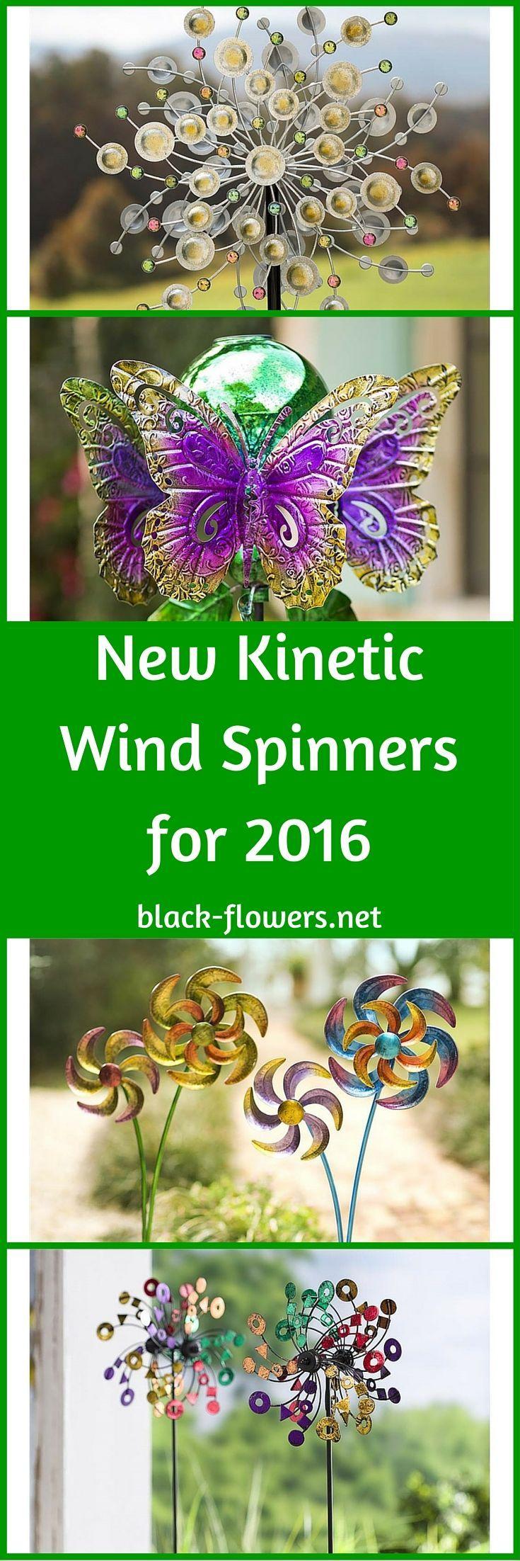 New Kinetic Wind Spinners for 2016