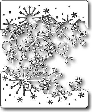 Memory Box - Dies - Swirling Snowflakes