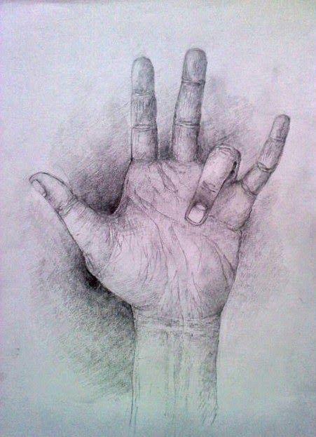 Art-fikcyjny pokój. : Dłonie. 2012.