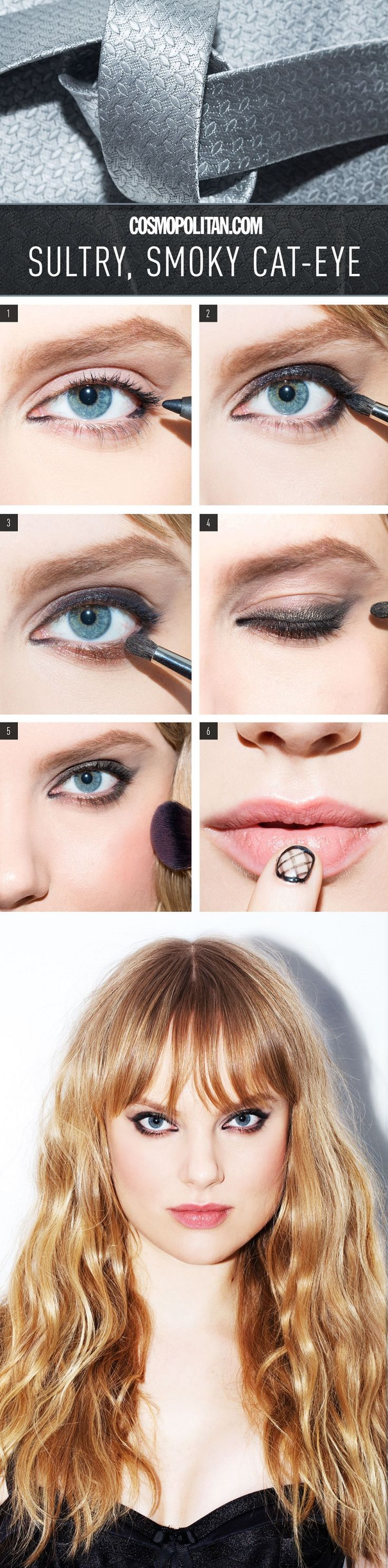 Sultry, Smoky Cat-Eye How-To