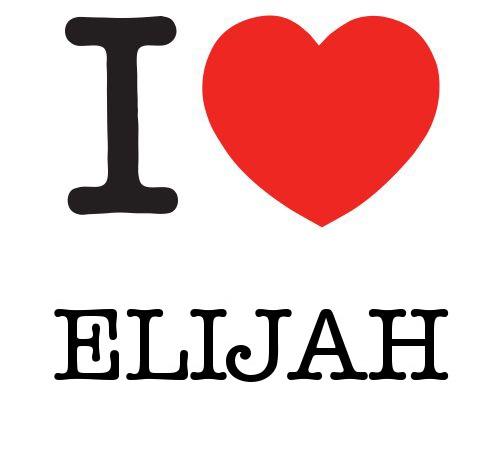 I Heart Elijah #love #heart