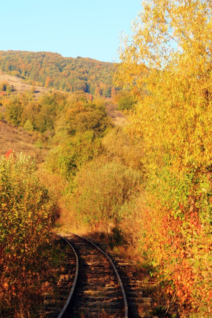 """Romantic rail road walk..alone. """"Stop this train, I want to get out.."""""""