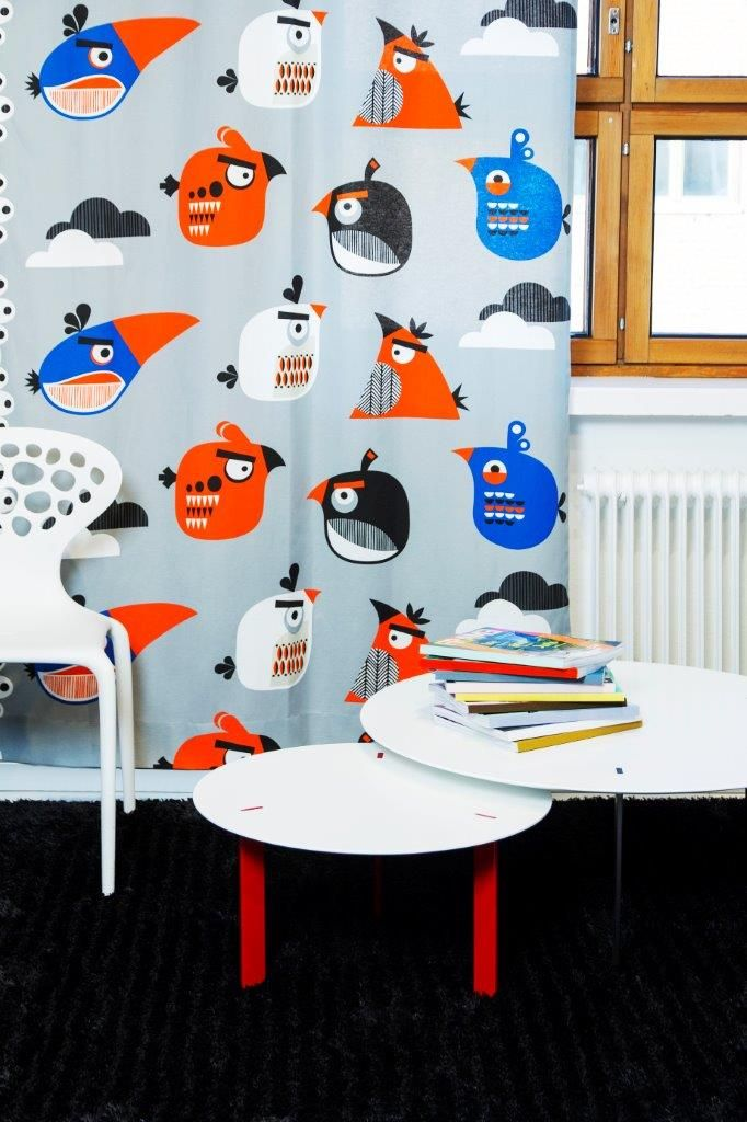 """""""Sky"""" curtain,140 x 250 cm - Angry Birds Interior Collection by Vallila"""