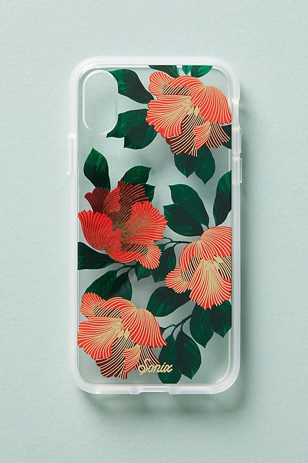Sonix Palm Deco iPhone X Case from Anthropology.