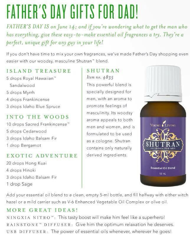 Gift ideas for men!  Shutran. Ningxia Nitro.  Young Living Essential Oils Independent Distributor #1731763  www.youngliving.com