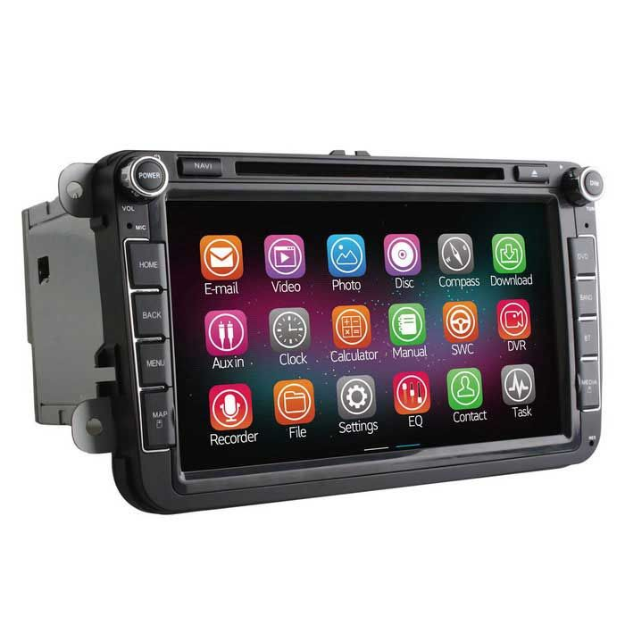 Ownice C200 2G RAM 1024*600 Quad-Core Android 4.4 Car DVD Player for VW Polo…