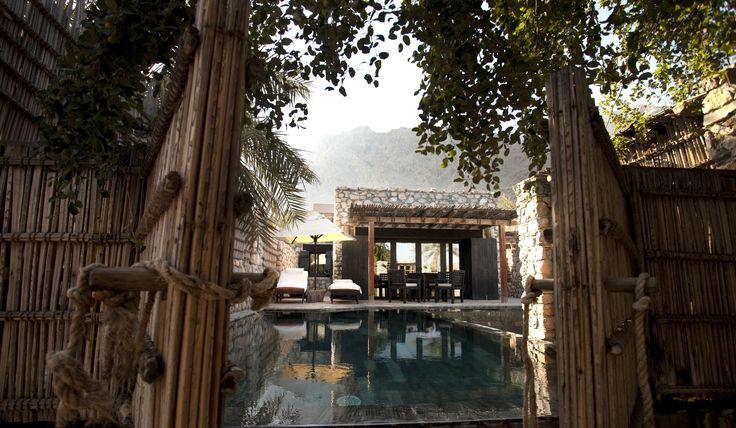 Six Senses Zighy Bay Oman pool villa