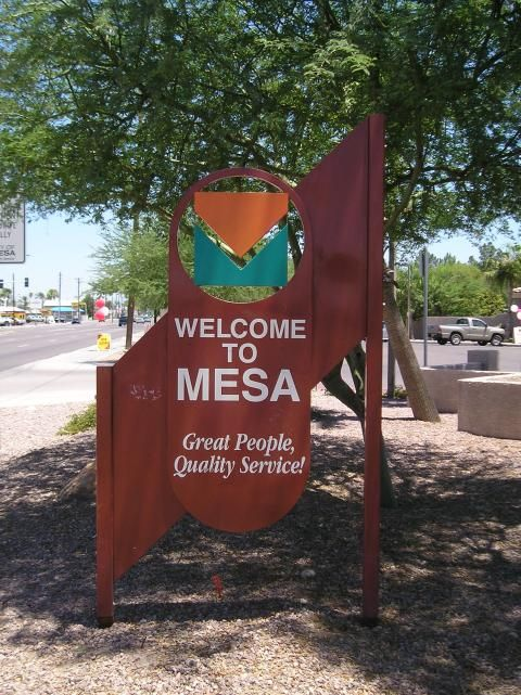 Welcome to Mesa. Great People, Quality Service. #MesaCityLimitless