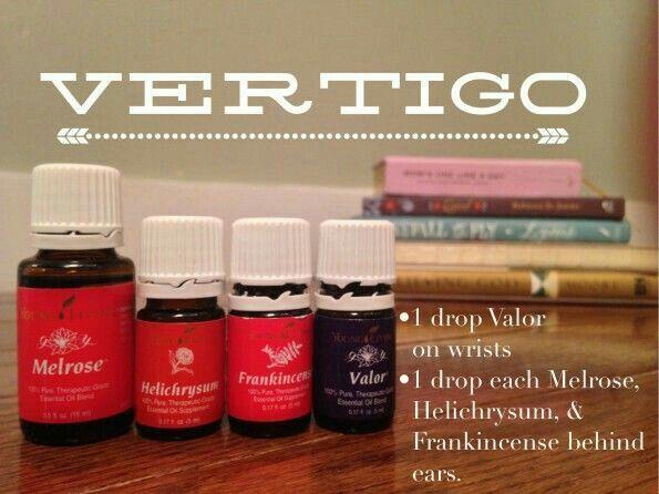Oils for vertigo