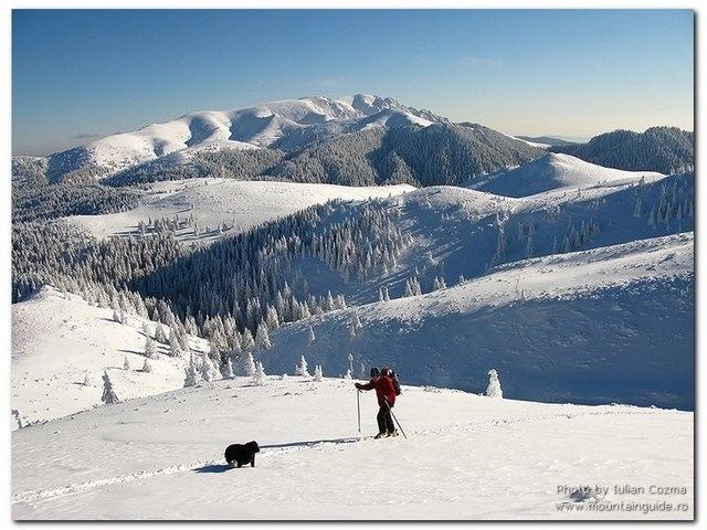 Bucegi Mountais in winter