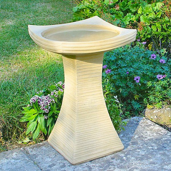 Image detail for -Contemporary Bird Bath - Garden Bird Baths