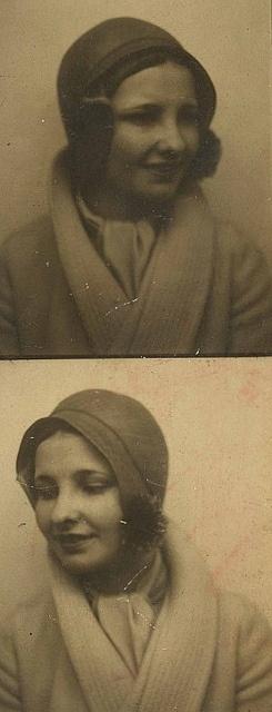 photobooth.  #1920s #flapper  #vintage