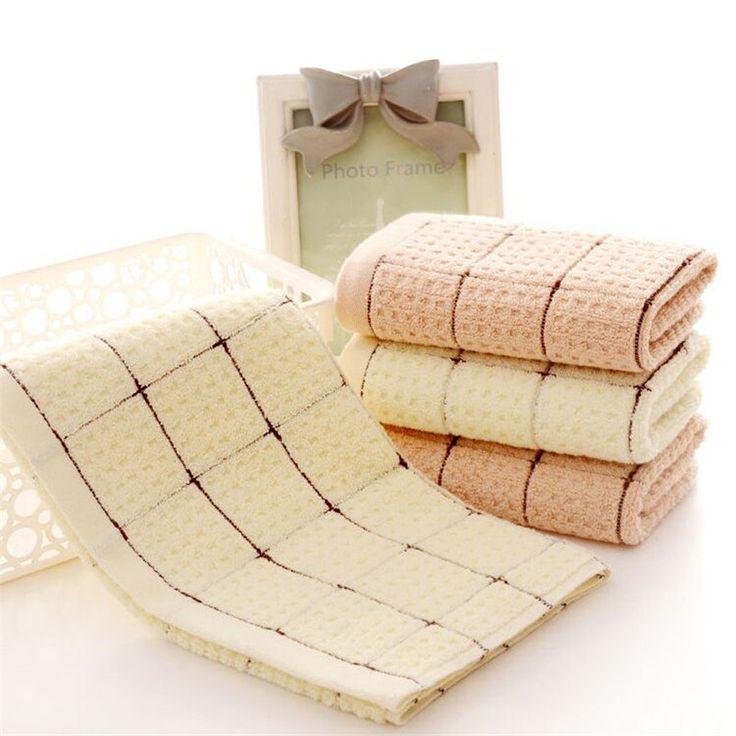 Мягкий 34*75 см длинноволокнистого хлопка полотенце Небольшая площадь магия ванная комната полотенца для рук # купить на AliExpress
