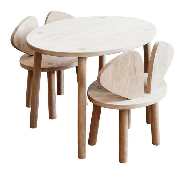 Nofred Mouse Chair Oak Coffee Table Furniture Kids Table And Chairs