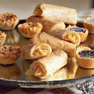 Apple and Cream Cheese Roll-Ups | MyRecipes.com