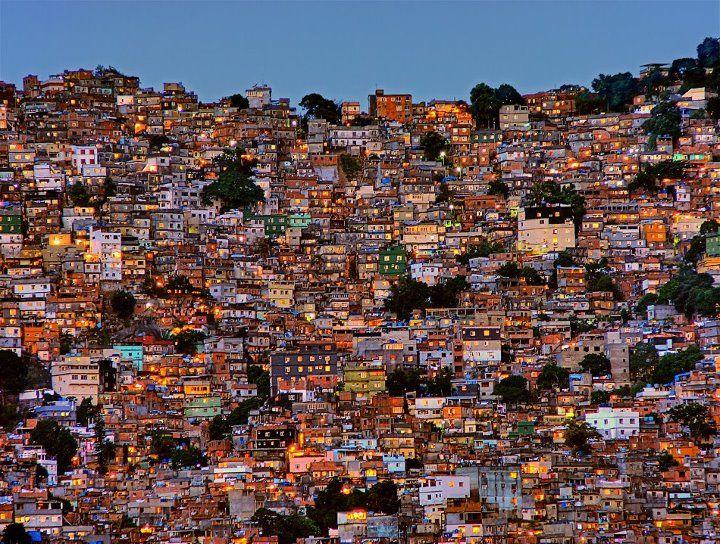 Photographie : Favela de Rocinha, Brésil