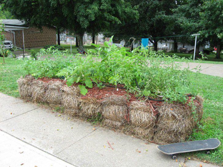 Gardening in Straw Bales Full Tutorial