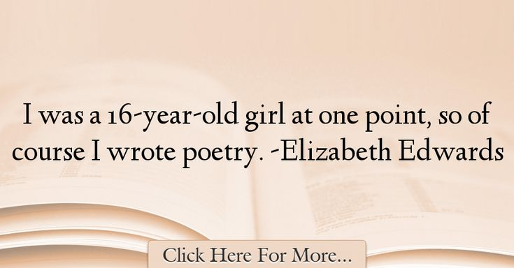 Elizabeth Edwards Quotes About Poetry - 54141