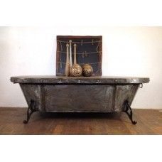 Industrial Bath Tub Coffee Table