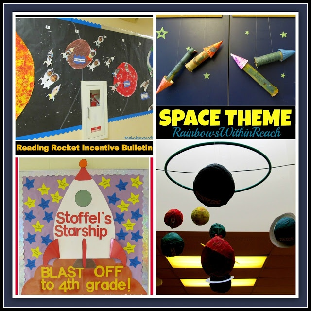 17 best images about classroom theme outer space astronauts nasa on pinterest the - Outer space classroom decorations ...